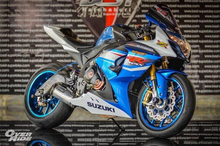 "Can canh sieu moto Suzuki GSX-R1000 do ""sieu khung"""