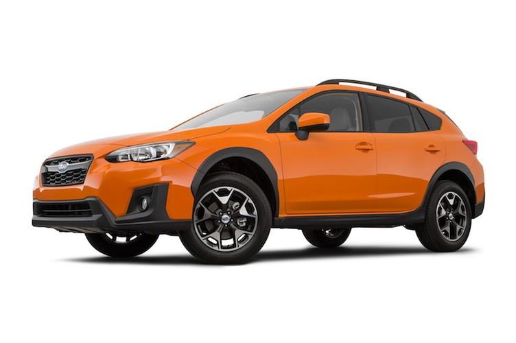 """Subaru Crosstrek """"dau"""" Mazda CX-5 voi gia chi 515 trieu"""
