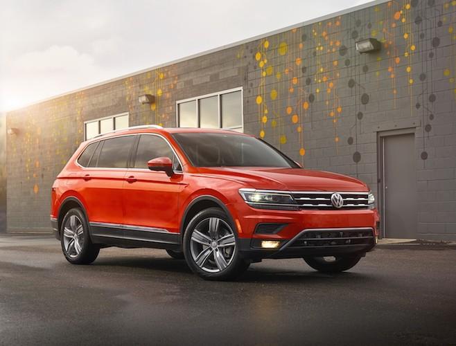 Chot gia 659 trieu, Volkswagen Tiguan quyet ha Honda CR-V