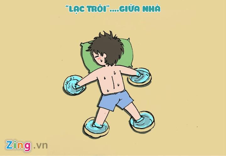 "Cach chong nong ""ba dao"" cua sinh vien khi khong co dieu hoa"