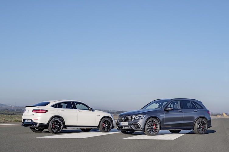 "Sieu SUV Mercedes-AMG GLC 63 ""chot gia"" tu 2,46 ty"