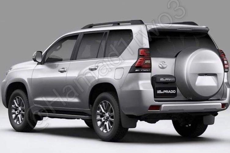 """""""Hang nong"""" Toyota Land Cruiser Prado 2018 lan dau lo dien-Hinh-3"""