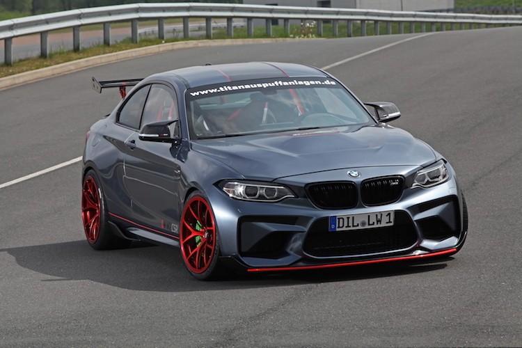 """Be hat tieu"" BMW M2 do M4 GTS khung gia 2,27 ty-Hinh-2"