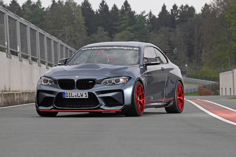 """Be hat tieu"" BMW M2 do M4 GTS khung gia 2,27 ty"