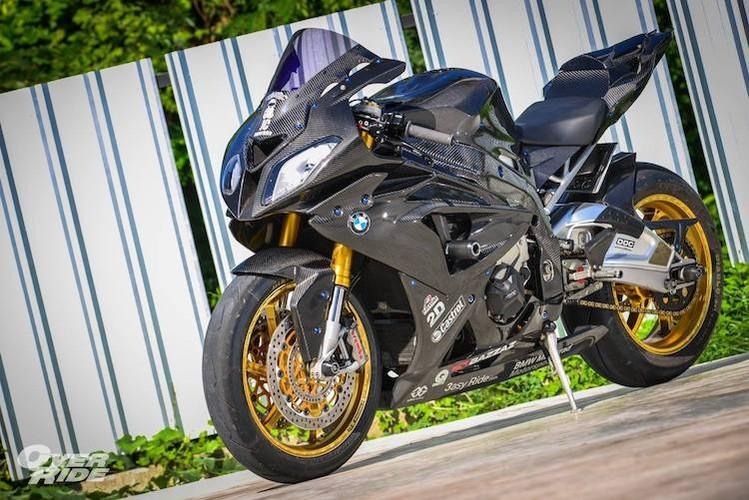 """Sieu moto BMW S1000RR HP4 tien ty do """"sieu khung"""""""