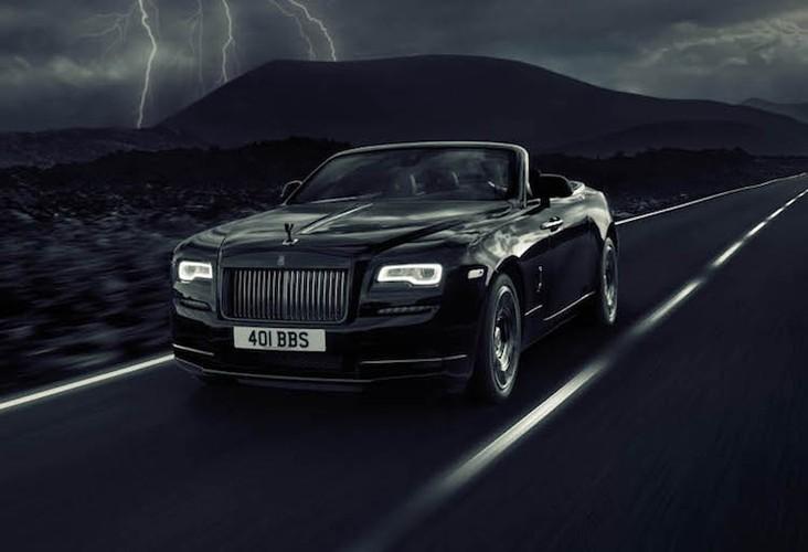 Sieu xe sang Rolls-Royce Dawn mui tran gia hon 7 ty