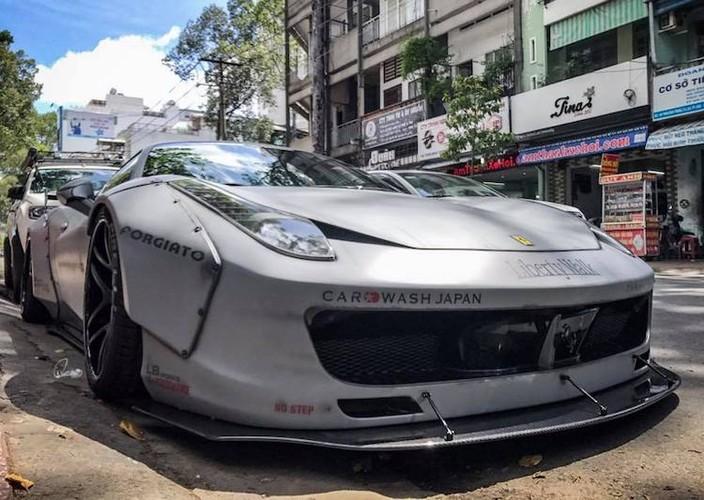 Sieu xe Ferrari 458 Italia hon 10 ty do doc nhat Viet Nam-Hinh-2