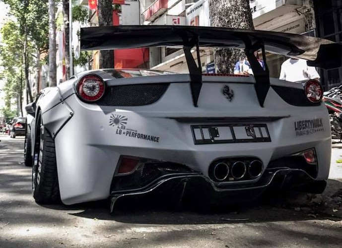 Sieu xe Ferrari 458 Italia hon 10 ty do doc nhat Viet Nam-Hinh-7