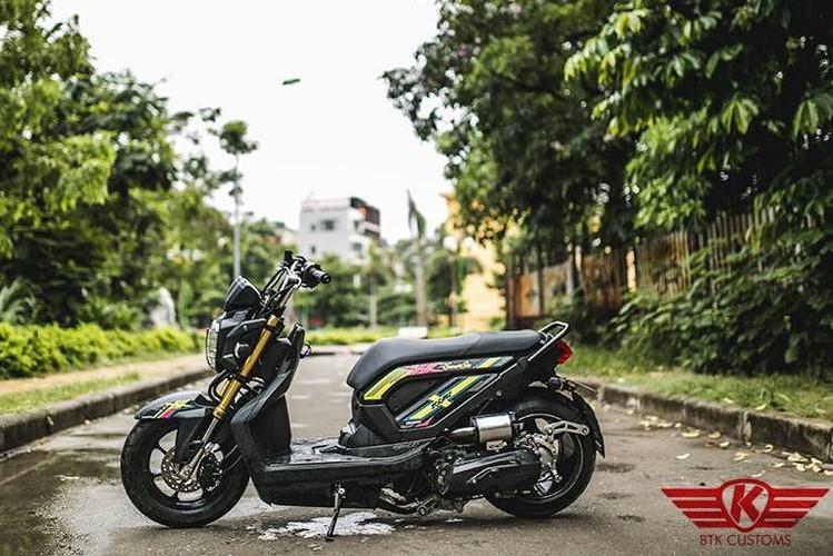 "Honda Zoomer X do ""mong to"" cua dan choi Ha Noi-Hinh-7"
