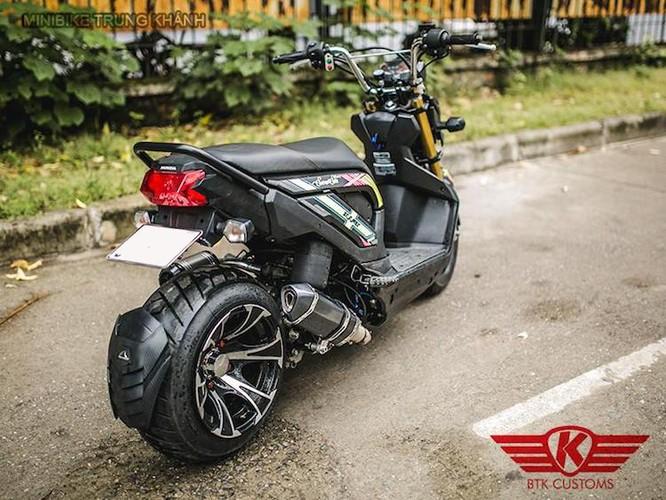 "Honda Zoomer X do ""mong to"" cua dan choi Ha Noi-Hinh-8"