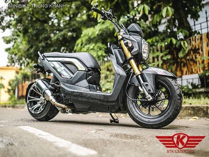 """Honda Zoomer X do """"mong to"""" cua dan choi Ha Noi"""