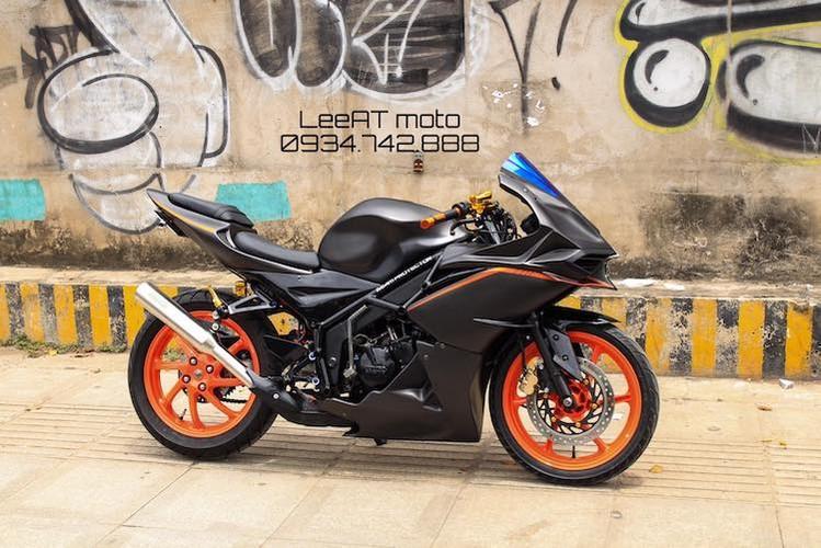 Tho Viet do Honda NSR150 thanh moto Kawasaki tien ty-Hinh-2
