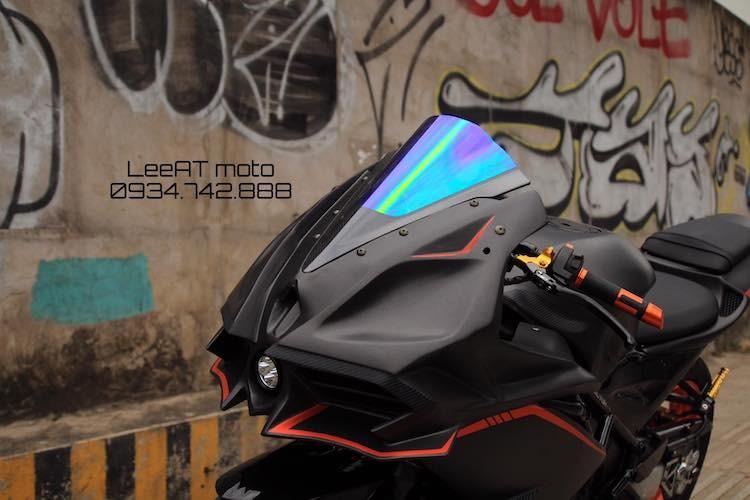 Tho Viet do Honda NSR150 thanh moto Kawasaki tien ty-Hinh-3
