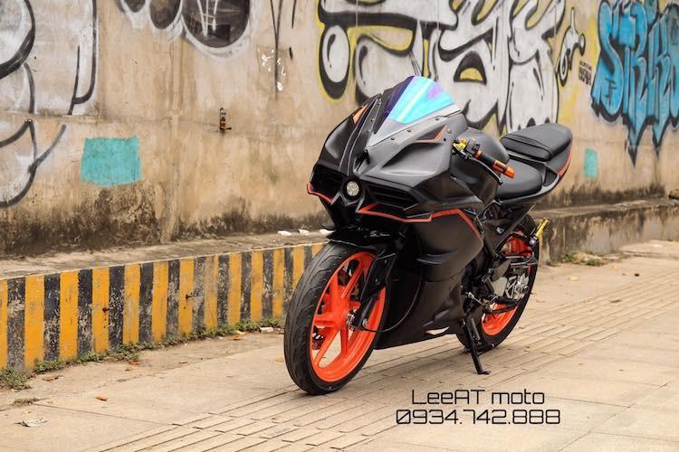 Tho Viet do Honda NSR150 thanh moto Kawasaki tien ty