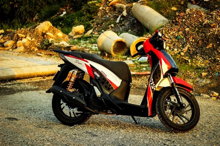 """Xe tay ga Honda SH do """"xe dua"""" o Sai Gon-Hinh-5"""