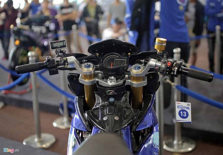 """Xe no"" Exciter dep nhat trong cuoc thi do xe Yamaha-Hinh-5"