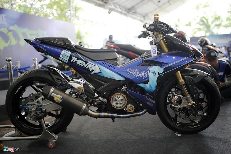 """Xe no"" Exciter dep nhat trong cuoc thi do xe Yamaha"
