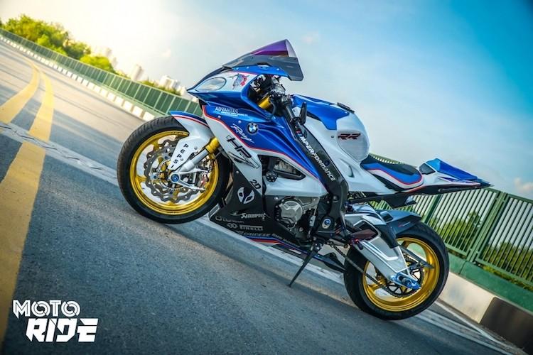 Dan choi Sai Gon chi tram trieu do moto BMW S1000RR