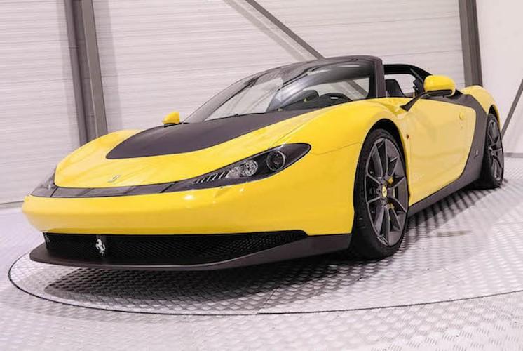 """Sieu xe Ferrari Sergio hang thua """"thet gia"""" 113 ty dong"""