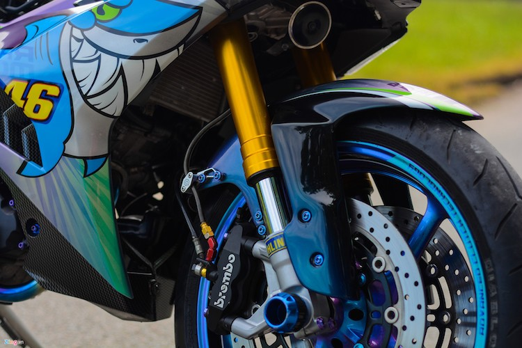 Yamaha Exciter 150 do phu kien moto 1000cc tai Can Tho-Hinh-3