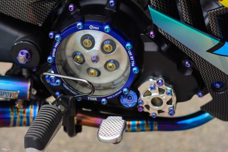 Yamaha Exciter 150 do phu kien moto 1000cc tai Can Tho-Hinh-4