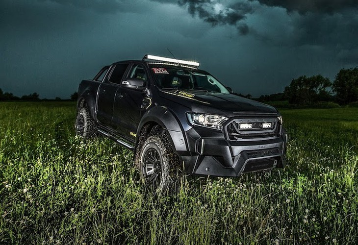 """Ford Ranger do offroad """"sieu ngau"""" phong cach Valentino Rossi-Hinh-2"""