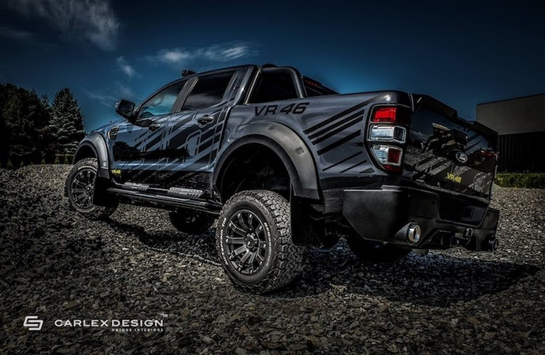 """Ford Ranger do offroad """"sieu ngau"""" phong cach Valentino Rossi-Hinh-3"""