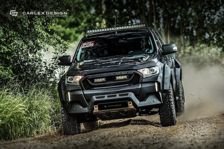 """Ford Ranger do offroad """"sieu ngau"""" phong cach Valentino Rossi-Hinh-6"""