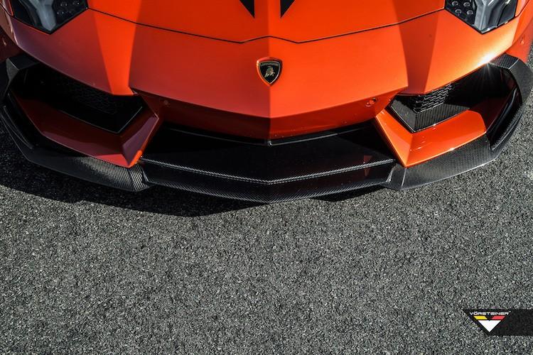 """Bo tot"" Lamborghini Aventador do Vorsteiner sieu khung-Hinh-2"