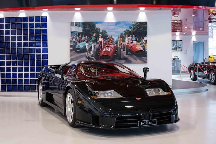 """Sieu xe EB110SS - """"tien boi"""" Bugatti Veyron gia 26,3 ty"""