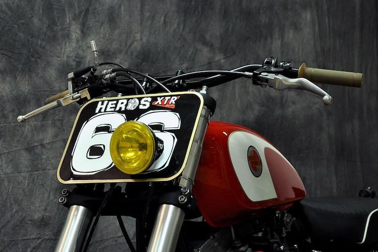 """Harley-Davidson Dyna """"lot xac"""" moto tracker duong pho-Hinh-3"""