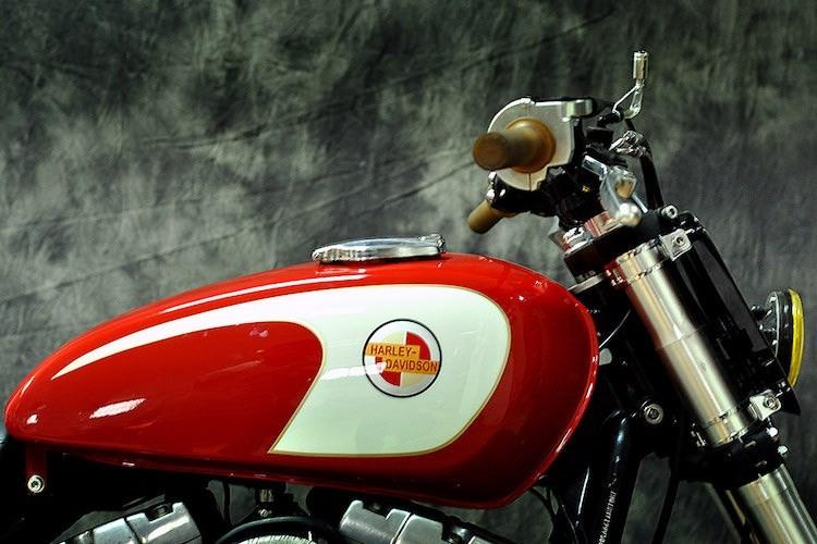 """Harley-Davidson Dyna """"lot xac"""" moto tracker duong pho-Hinh-5"""