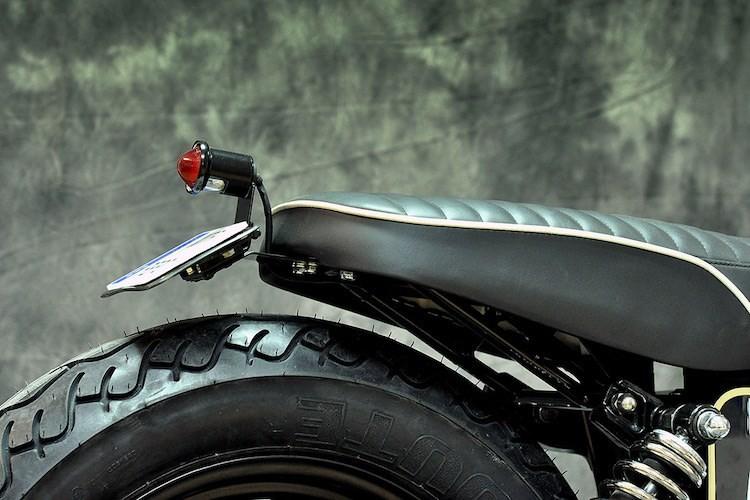"""Harley-Davidson Dyna """"lot xac"""" moto tracker duong pho-Hinh-7"""