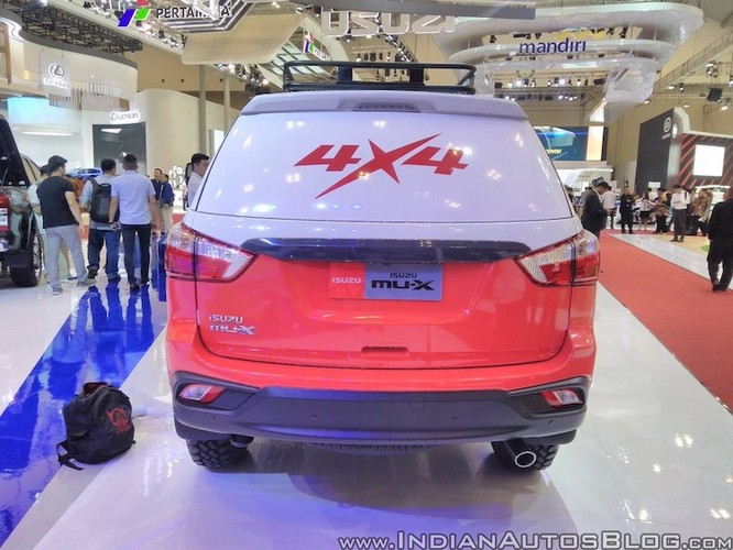 "Isuzu ra mat xe oto dia hinh off-roader MU-X 2017 ""cuc doc""-Hinh-9"