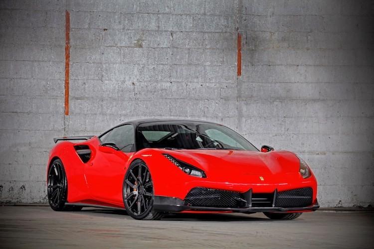 """""""Soi"""" sieu xe Ferrari 488 GTB do khung het 1 ty dong"""