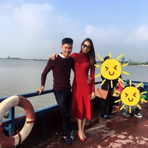 He lo cuoc song it biet cua em trai Hoa hau Pham Huong-Hinh-4