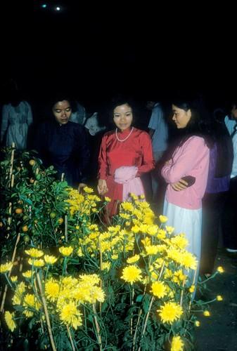 Anh dac biet ve cho hoa Tet Sai Gon nam 1966-Hinh-7