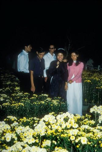 Anh dac biet ve cho hoa Tet Sai Gon nam 1966-Hinh-8