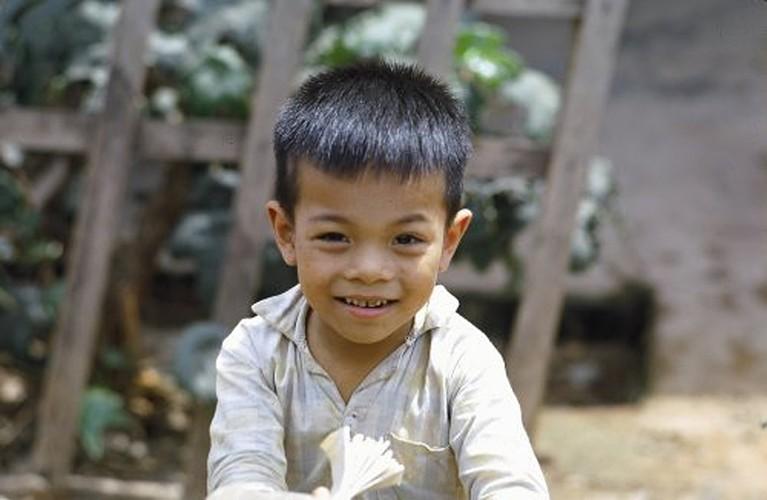 Anh doc tre em Viet Nam nam 1967 cua cuu binh My
