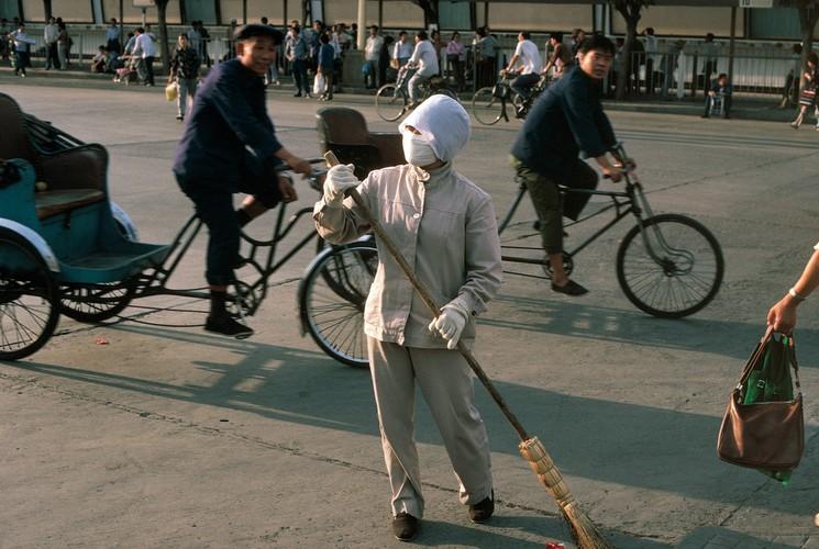 Anh dep me man ve Bac Kinh nam 1984 cua nguoi Duc (2)