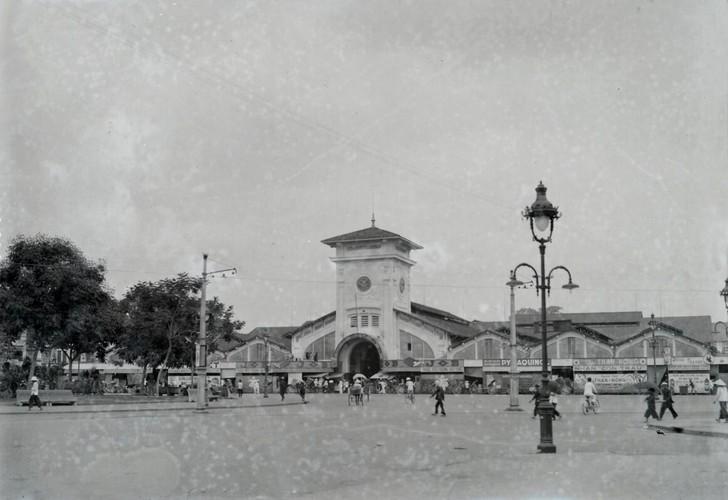 Anh cuc hiem ve cho Ben Thanh thap nien 1920