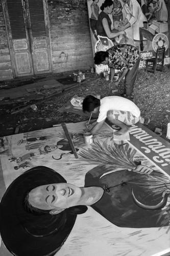 Loat anh de doi ve thanh pho Vientiane thap nien 1990 (2)-Hinh-4