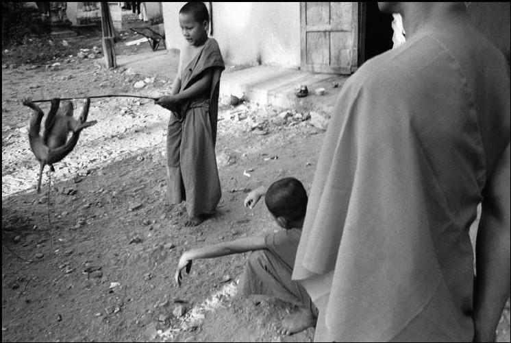 Loat anh de doi ve thanh pho Vientiane thap nien 1990 (2)