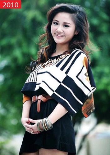 Ngay cang xinh dep man ma, Van Mai Huong da co man thay doi sac voc ngoan muc!-Hinh-2