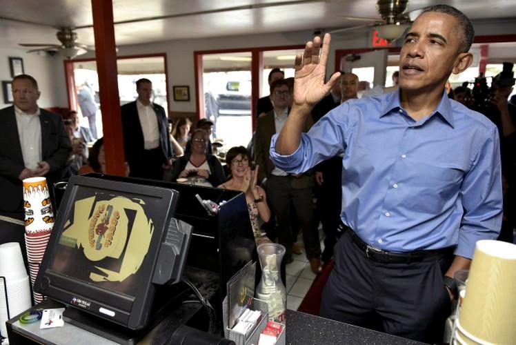 Nhung khoanh khac an uong dang nho nhat cua Tong thong Obama-Hinh-7