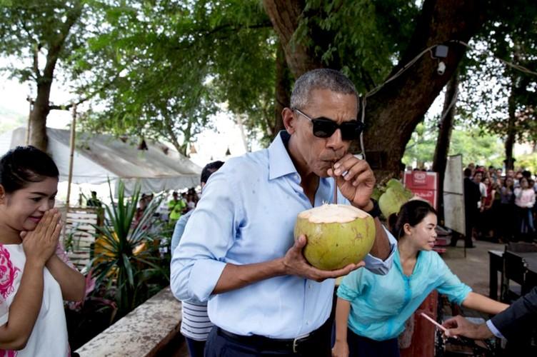 Nhung khoanh khac an uong dang nho nhat cua Tong thong Obama-Hinh-9