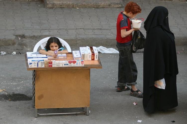 Chum anh khoanh khac yen binh yen hiem hoi o Aleppo