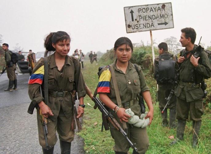 Chum anh ve cuoc noi day cua FARC o Colombia-Hinh-7