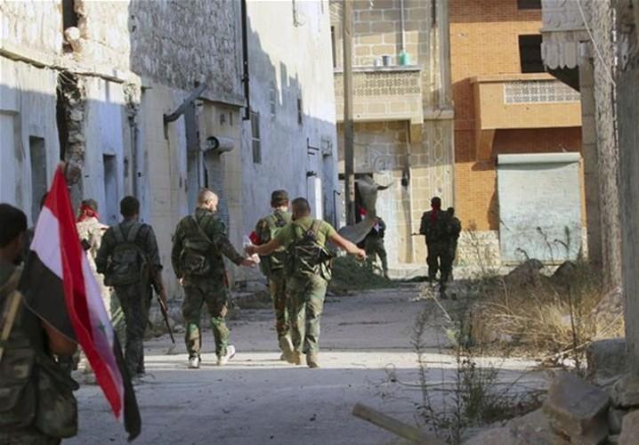 Anh: Quan doi Syria giai phong mot so vung o bac Aleppo-Hinh-8