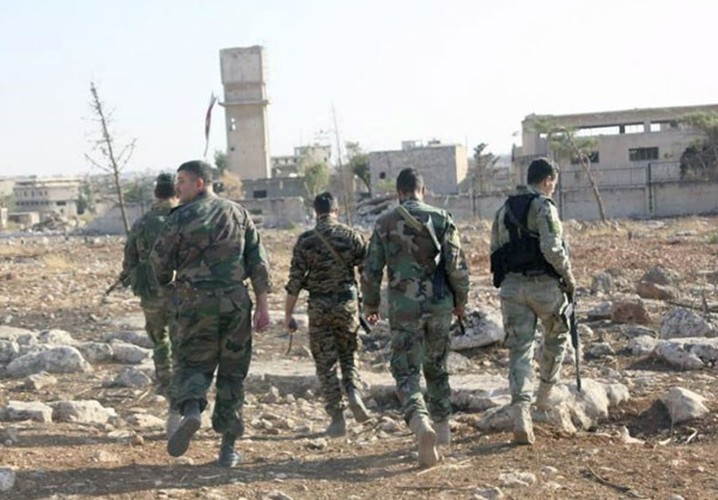 Anh: Quan doi Syria giai phong mot so vung o bac Aleppo-Hinh-9